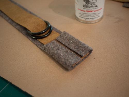 DIY.old school book strap ในช่วงปิดเทอม 16 -