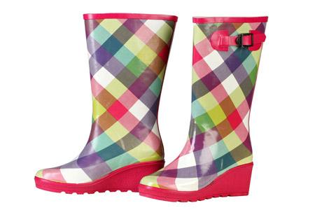 แฟชั่นรองเท้าบู๊ทยาง 15 - Rainboots