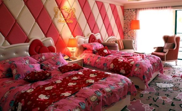 ไปทัวร์ Hello Kitty room ที่เกาะเชจูเกาหลี 21 - hello kitty