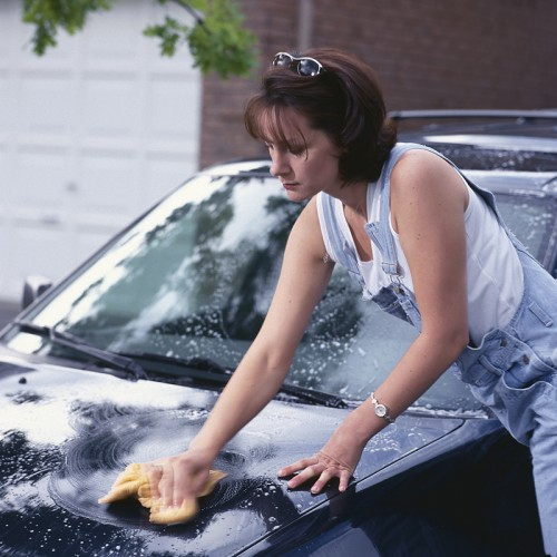 Car wash by yourself หลังน้ำท่วม 15 - car wash