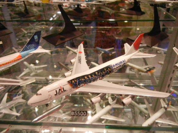 DSCN6483 580x435 ร้านโมเดลเครื่องบิน..ที่ Terminal 21