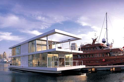 House Boat Design บ้านเรือ 14 - flood