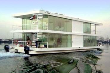 House Boat Design บ้านเรือ 25 - flood