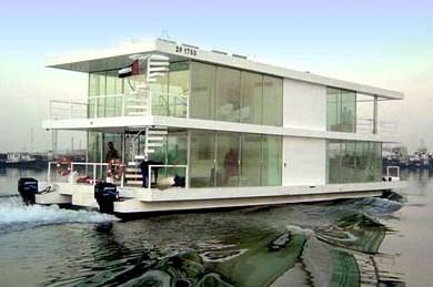 House Boat Design บ้านเรือ 16 - flood