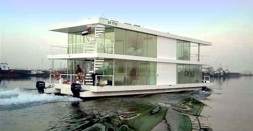 House Boat Design บ้านเรือ 19 - flood