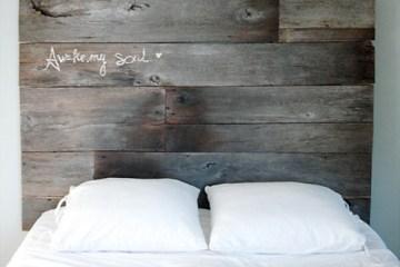 DIY ตกแต่งหัวเตียงนอนใหม่ หลังน้ำท่วม  9 -