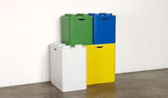 LEGO recycling containers 15 -