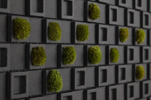 Dent Cube: Create a Unique Wall ไอเดียการตกแต่งแนวกำแพง 13 - interior design