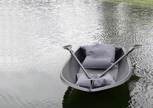 foldboat เรือพับได้ 15 - Plastic