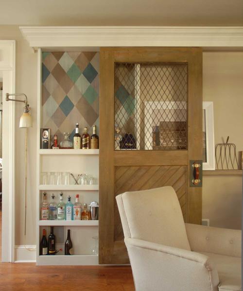 ก่อน-หลัง บานประตู DIY:Before & After repurposed horse stall doors 19 -
