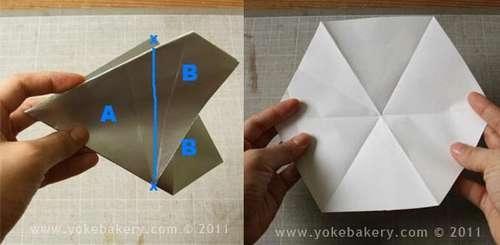 25541211 090957 Origami Snowflake..เอาไว้ตกแต่งบรรยากาศช่วงปีใหม่