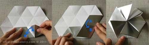 25541211 091029 Origami Snowflake..เอาไว้ตกแต่งบรรยากาศช่วงปีใหม่