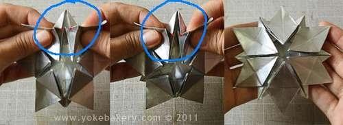 25541211 091223 Origami Snowflake..เอาไว้ตกแต่งบรรยากาศช่วงปีใหม่