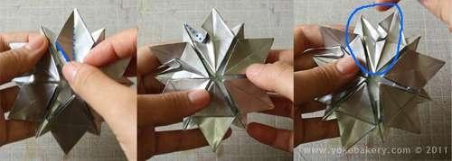25541211 091235 Origami Snowflake..เอาไว้ตกแต่งบรรยากาศช่วงปีใหม่