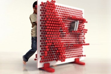 Pin Press Shelf..สร้างชั้นวางสนุกๆด้วยการวางหมุดด้วยตัวเอง 14 - idea book shelf