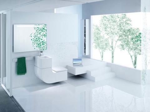 25541216 200224 สุขภัณฑ์ + อ่างล้างมือ..ประหยัดทั้งพื้นที่..และน้ำ