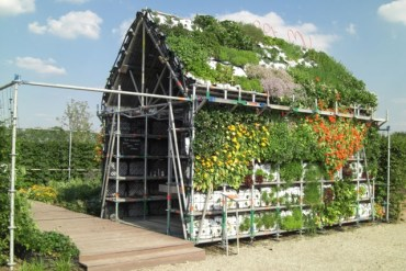 EatHouse บ้านกินได้..สวนแนวตั้งที่สร้างจากลังพลาสติก 20 - vertical garden