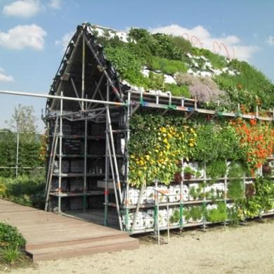 EatHouse บ้านกินได้..สวนแนวตั้งที่สร้างจากลังพลาสติก 17 - Reuse
