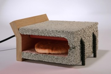เครื่องปิ้งขนมปังทำจากวัสดุก่อสร้าง..minimalist toaster 8 - Art & Design