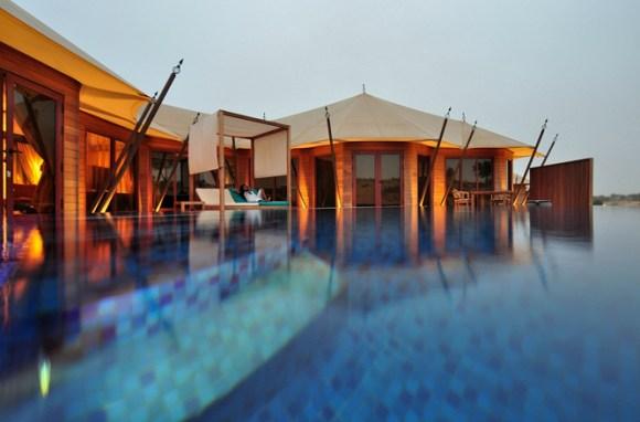 Al Khaimah Pool Villa Banyan Tree Al Wadi a21196613 580x382 Banyan Tree AL Wadi รีสอร์ท ณ ดูไบ