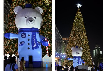 Christmas & New Year 2012 Decoration @ Town: Ratchaprasong  สี่แยกราชประสงค์ 19 -