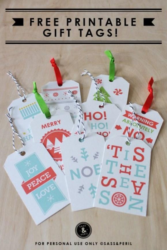 Free Christmas tags 14 - christmas