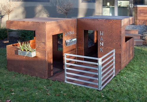PlayModern outdoor 3 Modern Playhouses by Play Modern บ้านเด็กเล่น