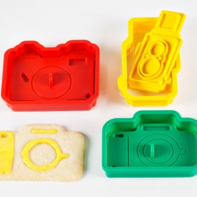 The Camera Cookie Cutter Set 17 - bakery