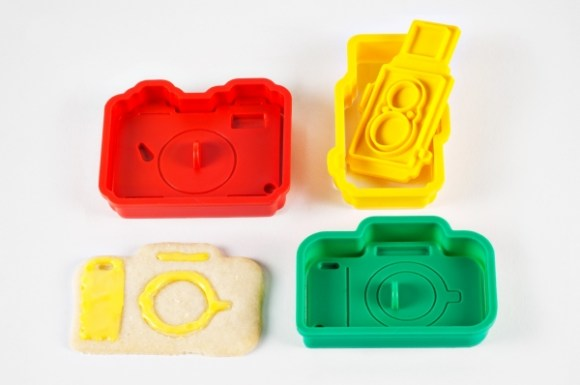 The Camera Cookie Cutter Set 14 - bakery