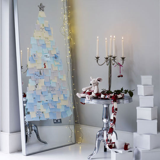 D.I.Y. ทำต้นคริสต์มาสประดับบ้าน..แบบประหยัด 16 -