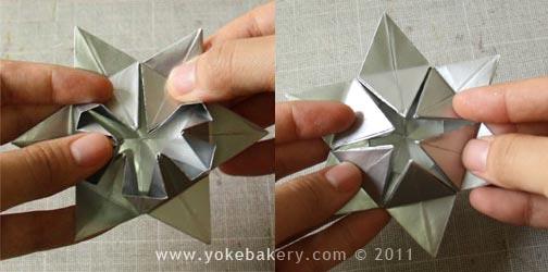 origami snowflake 14 Origami Snowflake..เอาไว้ตกแต่งบรรยากาศช่วงปีใหม่