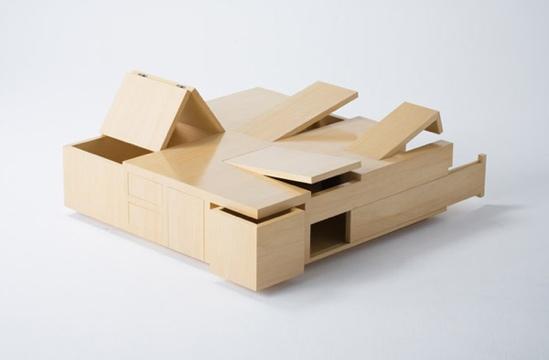 The Kai Table..โต๊ะไม้จิ๊กซอว์ ยิ่งกว่าค่ายกล...สไตล์ญี่ปุ่น.. 24 - ตกแต่งบ้าน