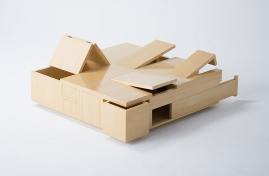 25550114 164521 The Kai Table..โต๊ะไม้จิ๊กซอว์ ยิ่งกว่าค่ายกล...สไตล์ญี่ปุ่น..