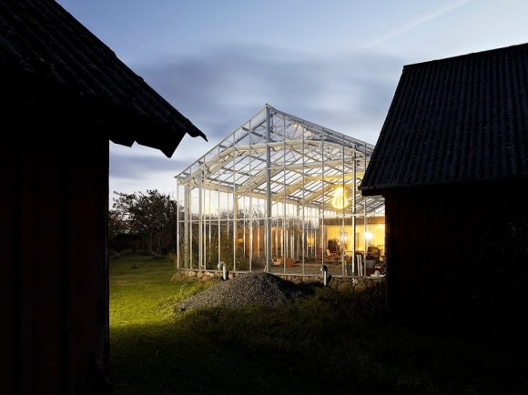 6 580x434 Glass House @ Sweden by Unit Arkitektur