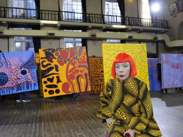 Look Now, See Forever by Yayoi Kusama 13 - art exhibition