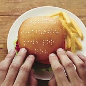 Wimpy braille burgers มอบรอยยิ้มสู่ผู้พิการทางสายตา 19 - Braille