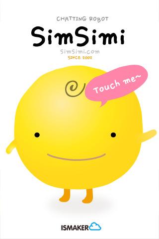 Simsimi กระแสแชทโรบอท 13 - Android