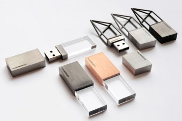 "USB memory sticks ""Empty Memory"" 14 - stainless"