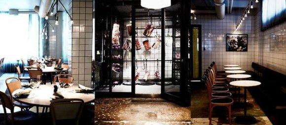 AG Restaurant การตกแต่งบรรยากาศด้วยซากสัตว์ 14 - dry-aging