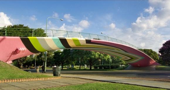 lang baumann 580x308 Beautiful Bridge ไปทอดสะพาน ณ สะพานสีสดใสกัน
