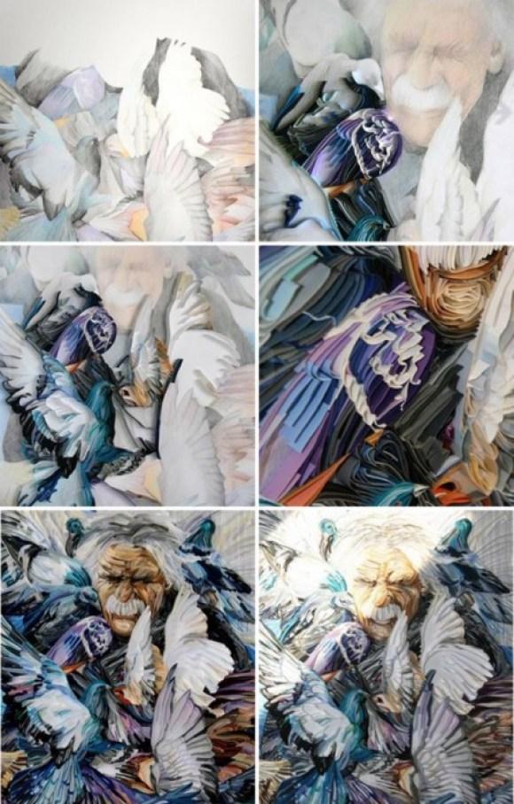 man02 580x908 Papercraft By Yulia Brodskaya