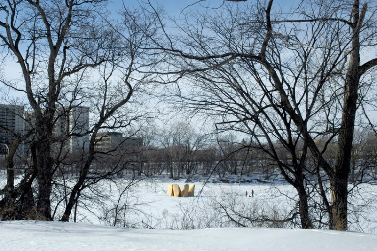 Skating Shelters หนาวอย่างอบอุ่น  19 - Architecture