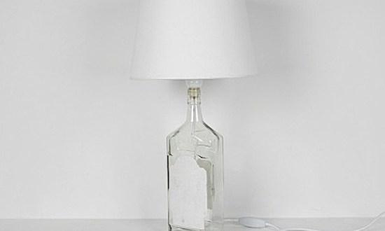 1 bottle lamp white 550x330 BOTTLE LAMP IDEAS หลอดไฟขวดแก้ว