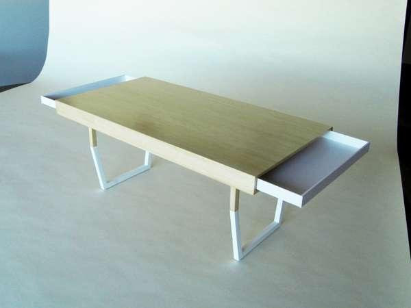 25550212 231450 Hidden Table..ลิ้นชักใต้โต๊ะ ที่ดูกลมกลม จนเหมือนเป็นจุดซ่อนเร้น