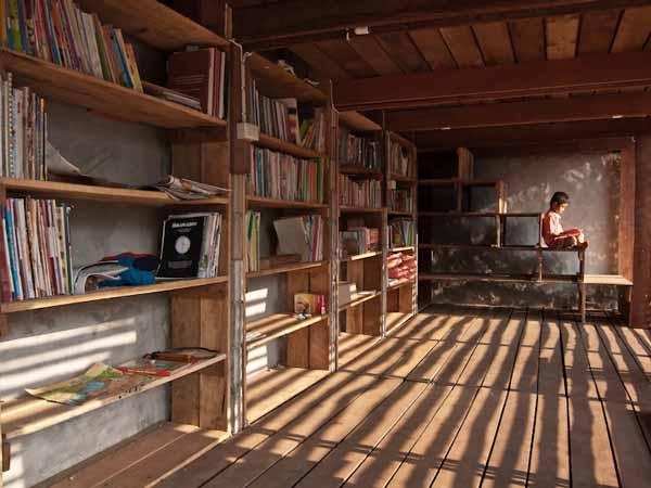 TYIN Bamboo Library And Bath House Thailand Orphanage 6 สถาปัตยกรรมที่ยั่งยืน..จากการทำงานร่วมกัน ระหว่างชาวบ้านที่ท่าสองยาง และกลุ่มนักศึกษาจากนอร์เวย์