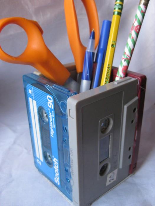 %name เปลี่ยน cassette tapes ให้กลายมาเป็นของใช้ใหม่
