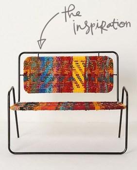 inspiration1 282x350 แปลงโฉมเก้าอี้เก่า เป็นเก้าอี้สีสันเท่ๆ
