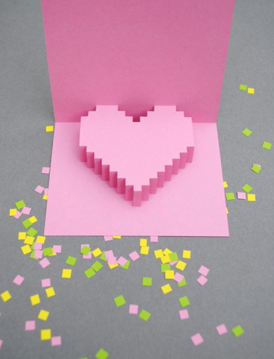 DIY Valentine POP UP CARD ทำการ์ด Handmade สุดเก๋ ส่งให้คนน่ารักกันเถอะ 3 - card