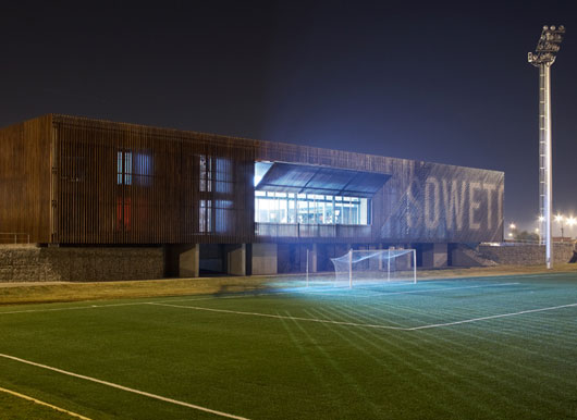 soweto football3 Soccer Centre ศูนย์การฝึกอบรมฟุตบอลของ Nike ในแอฟริกาใต้