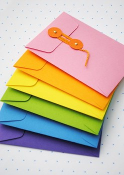 DIY.colorful envelopes 20 - DIY
